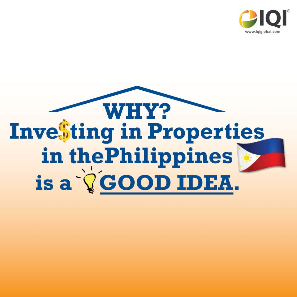 Why Investing In Properties In The Philippines Is A Good Idea