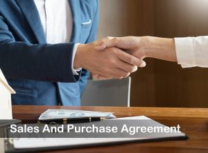 sales and purchase agreement