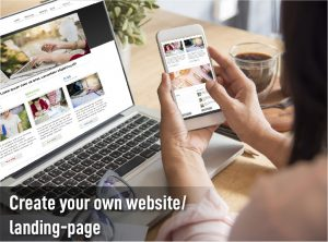 create you own website