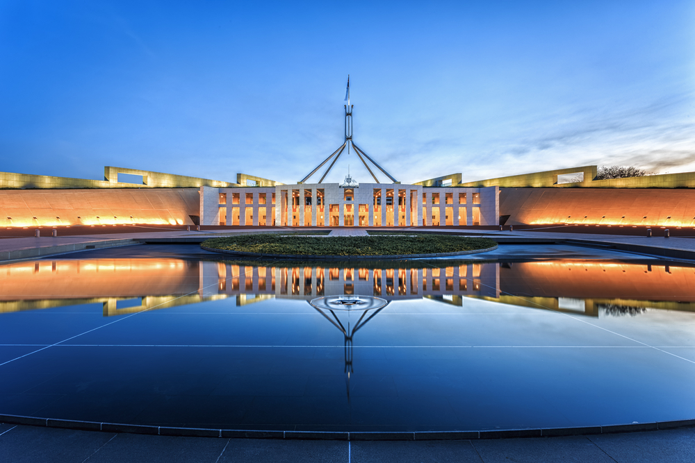 Say Hello to the Parliament of Canberra