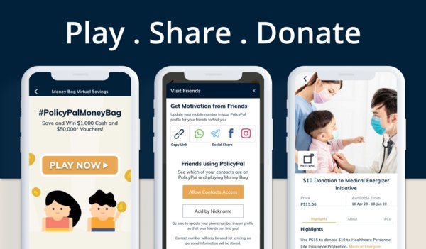 Singaporeans Can Win Cash Worth Up To $1,000 And Donate Credits To Healthcare Workers With The MoneyBag Game