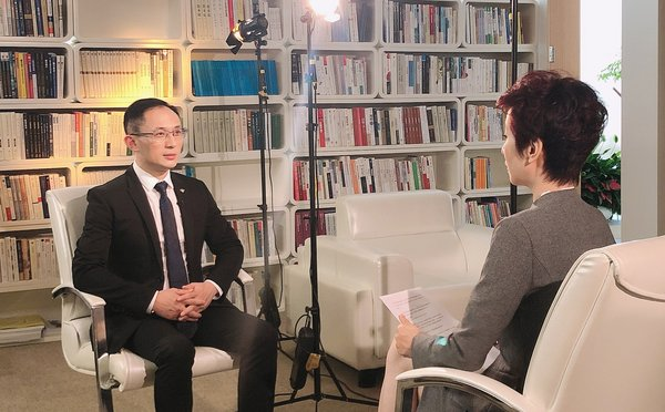 "TCSA chairman, Adkins Zheng, was invited to be interviewed by Phoenix TV's, ""Elite Converge"" program."