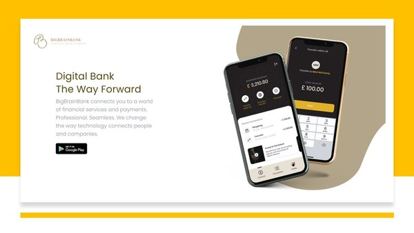 BigBrainBank Digital Bank is set to disrupt the financial brokerage trading system and spearhead faster, more efficient digital payments, remittances and lending services that are facilitated through systemic collaborative partnership within an integrated app that is safe, secure and seamless.